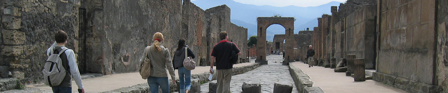 Pompeii and its Ruins directly from Rome by Grayline