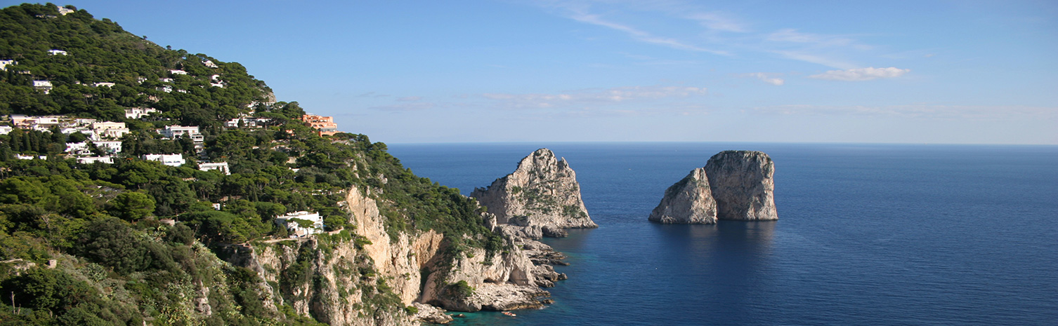Tours from Rome by Gray Line. Capri View.